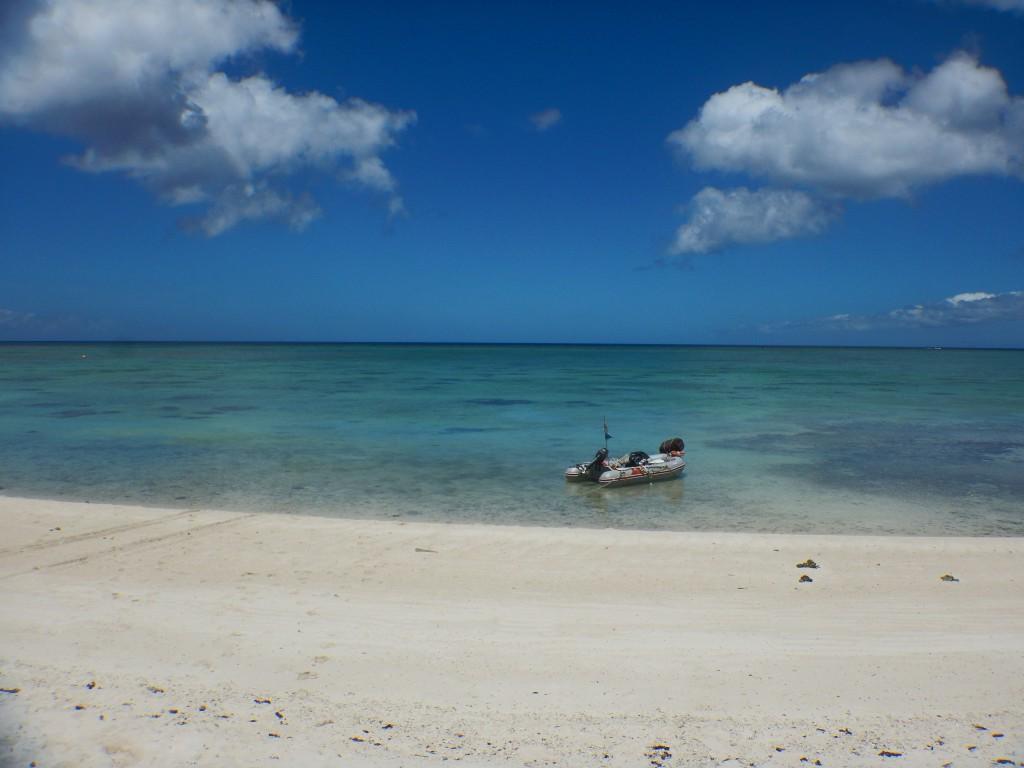 Aコースツアーで訪れる石垣一のビーチ