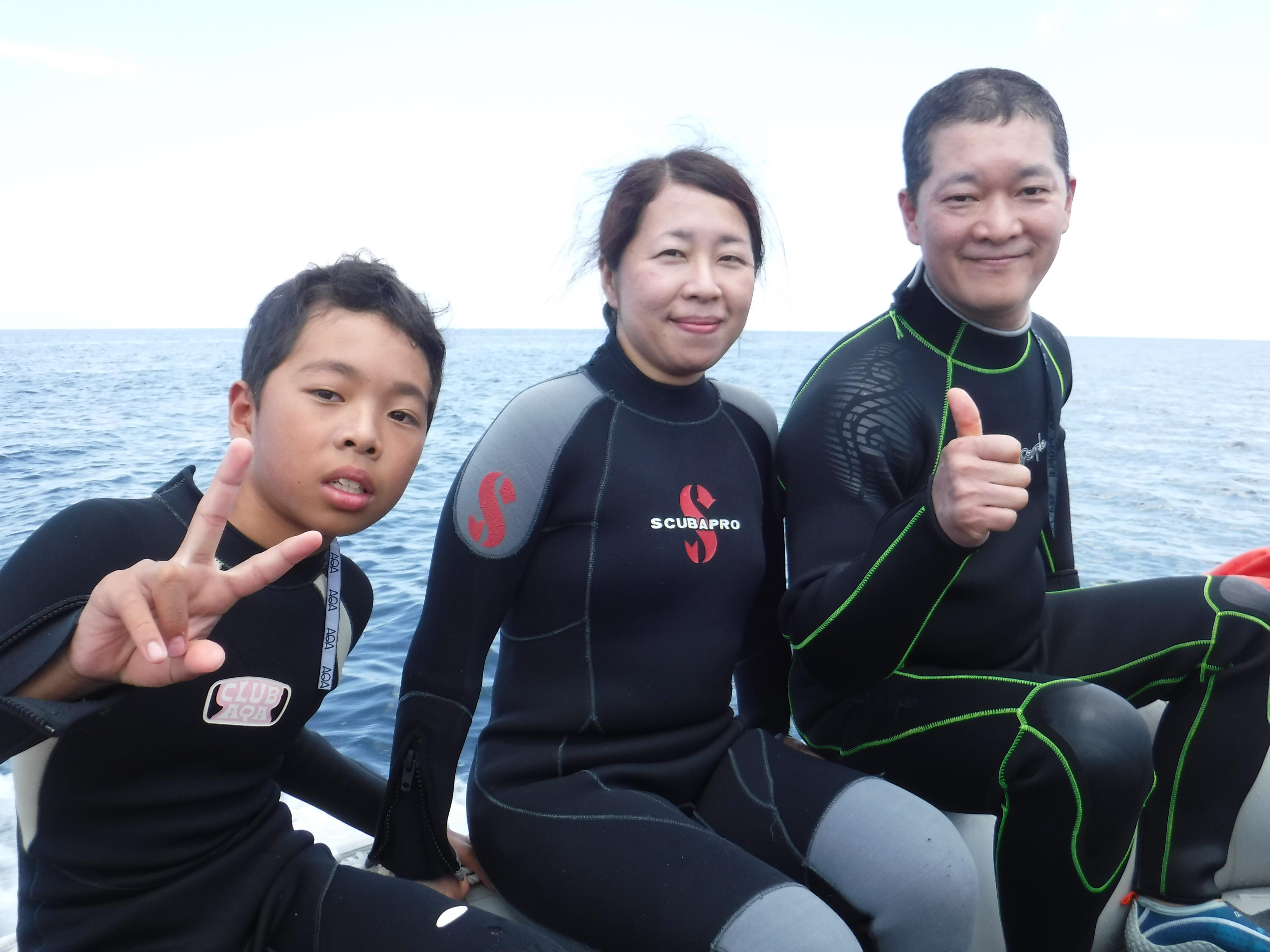 石垣はシュノーケル&ダイビング日和続きです☆