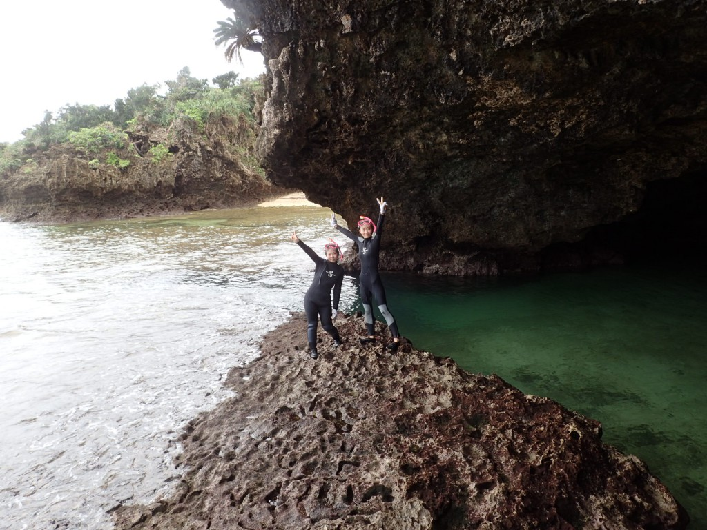 青の洞窟到着しました⭐︎